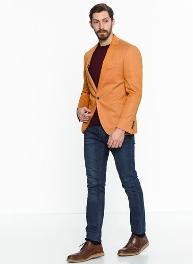 Comienzo Klasik Ceket Sarı